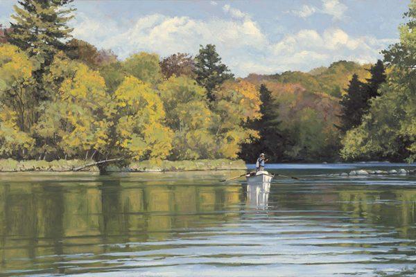 Autumn ReflectedOil on Canvas