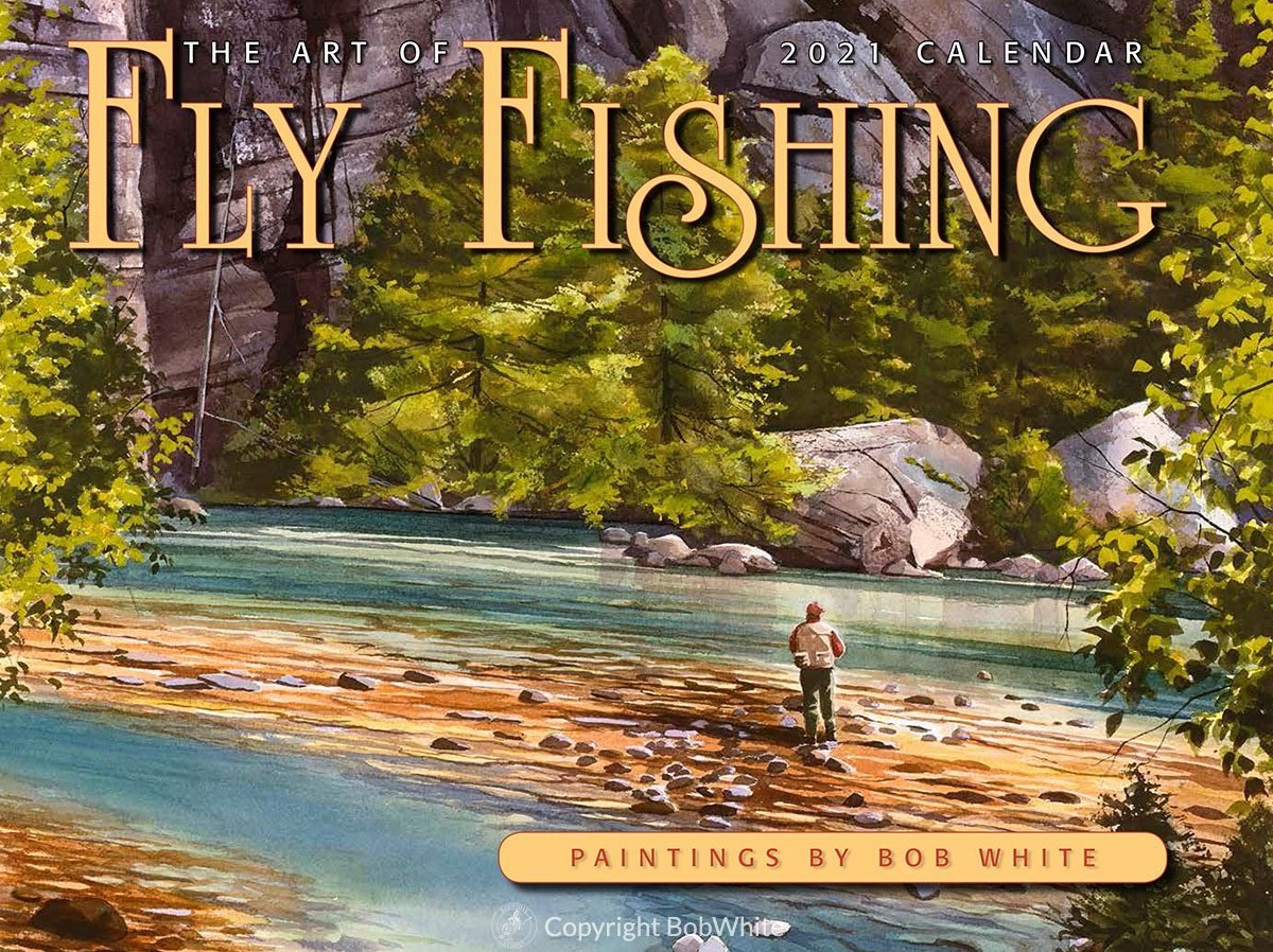 2021 Art of Fly Fishing Calendar Front