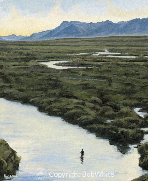 Evening Quiet – Togiak Valley Print