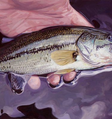 Small Fry – Largemouth Bass Printer's Proof