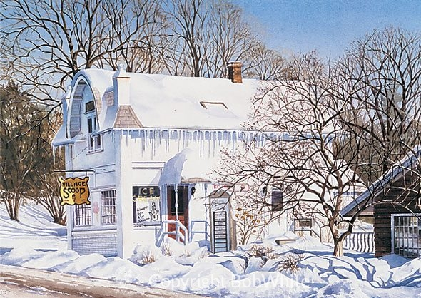 Closed for the Season Holiday Cards