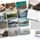 Fly Fishing 2017 Calendar Back