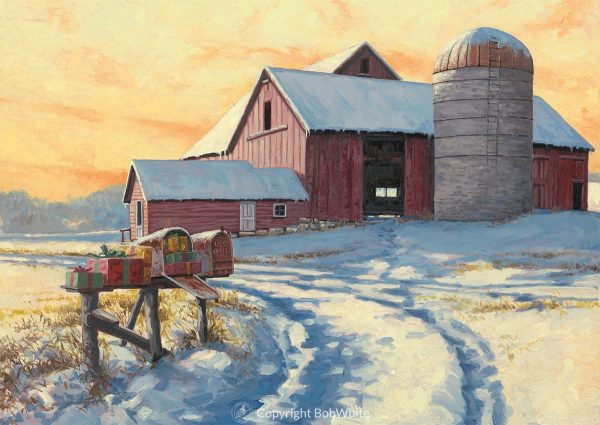 Rural Delivery Christmas Cards