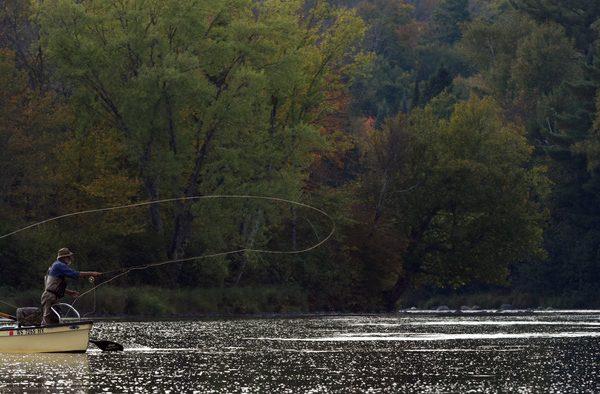 Musky Fly Fishing Wisconsin