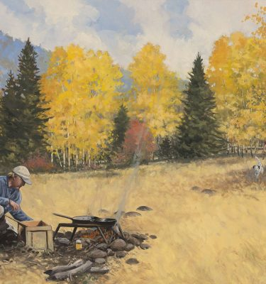 Brothers Upland Hunting Painting