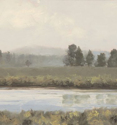 Piney Point - Henrys Fork Oil Painting