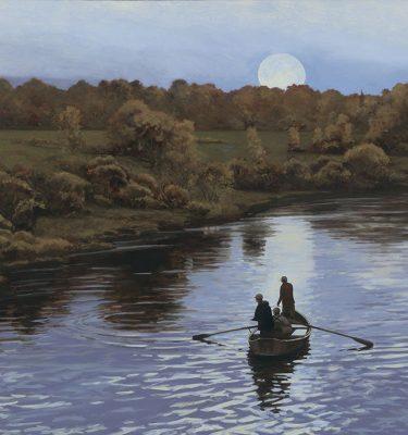 Chippewa River Nocturne Print