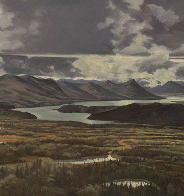 Alaska Kilbuk Mountains Print