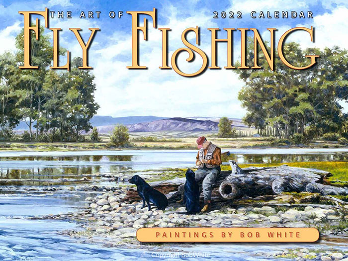 2022 Fly Fishing Calendar Front
